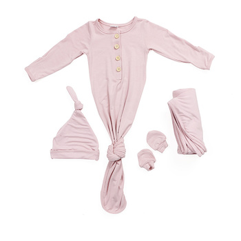 bamboo boutique infant gown clothing baby newborn baby clothes