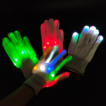 2020 New Unique Product Ideas Party Light Show Lightshow Dancing Glow In The Dark LED Skeleton Halloween Gloves