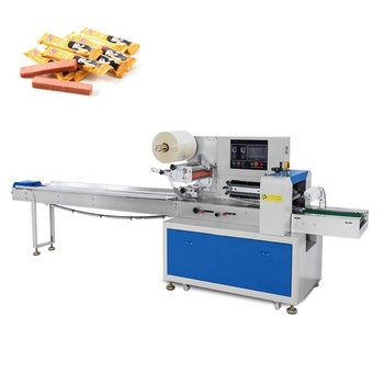 Automatic Puffed Food Frozen Cooked Food Pouch Horizontal Packing Machine