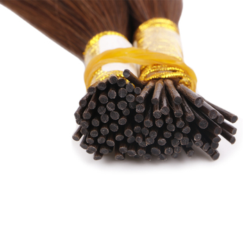 Hot sale Mini I Tip Hair Extensions Micro Links Real Human Hair Extensions