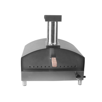 Propane Pizza Ovens Black Stainless Steel Indoor And Outdoor Gas Pizza Ovens