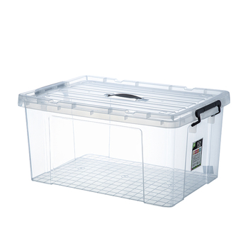 Transparent clear pp oversize plastic box for storage