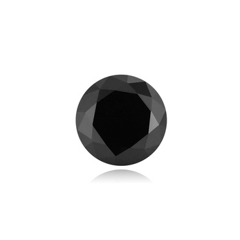 Megan Gems Wholesale Price 100 Quality Black Colored round brilliant cut synthetic gemstones factory Loose Moissanite Diamond