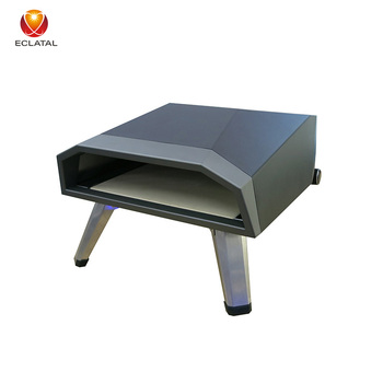 Hot Selling Indoor Outdoor Countertop OEM Stainless Steel Gas Baking Oven Pizza Ovens For Sale