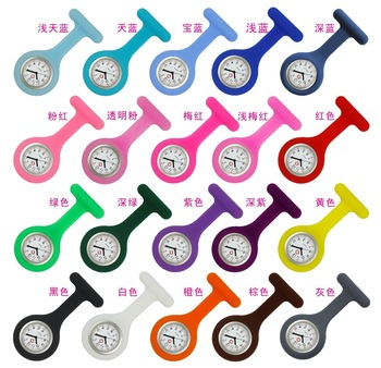 Custom Logo Watch Promotional Items Brooch Watch Tunic Fob Nursing Pendant Relogio Masculino Nurses Watches