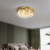 Living room lamp Nordic simple modern atmosphere light luxury round creative LED bedroom ceiling