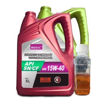 Lubricants SN/CF Low Price Synthetic Good Quality 15W-40 Strong Power Gasoline China Factory Hot Sale Diesel Motor Engine Oil
