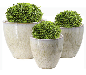 Wholesale gold White Porcelain vases for home decor ceramic nordic vases set flower pots planters indoor decorative plant pot
