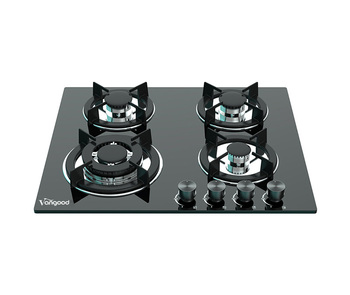 Cooker Stove Black Tempered Glass 4 Burner Gas Hob Portable Gas Cooktop With High Quality