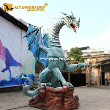 MY DINO AN097 Amusement Park Customized Animatronic Dragon for Exhibition