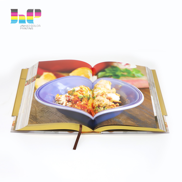 cook book printing,dust jacket cloth cover recipe cook book printing,Fitness food cook printing menu books in China
