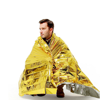 Emergency Mylar Thermal Blankets Perfect Survival Gear for Adults and Kids Survival Kit Hiking Outdoors Camping Emergency Space