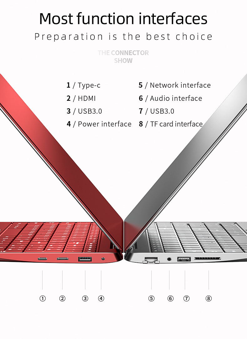 Wholesale 15.6inch Laptop Computer Core i5 10th processor DDR4 RAM Win 10 15.6 inch Laptop Notebook PC For Business