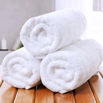 Custom Logo Towel 32S 16S Pure Cotton White Egyptian Cotton Hand Towels Bath 100% Cotton Towel Set Toallas for Hotel SPA