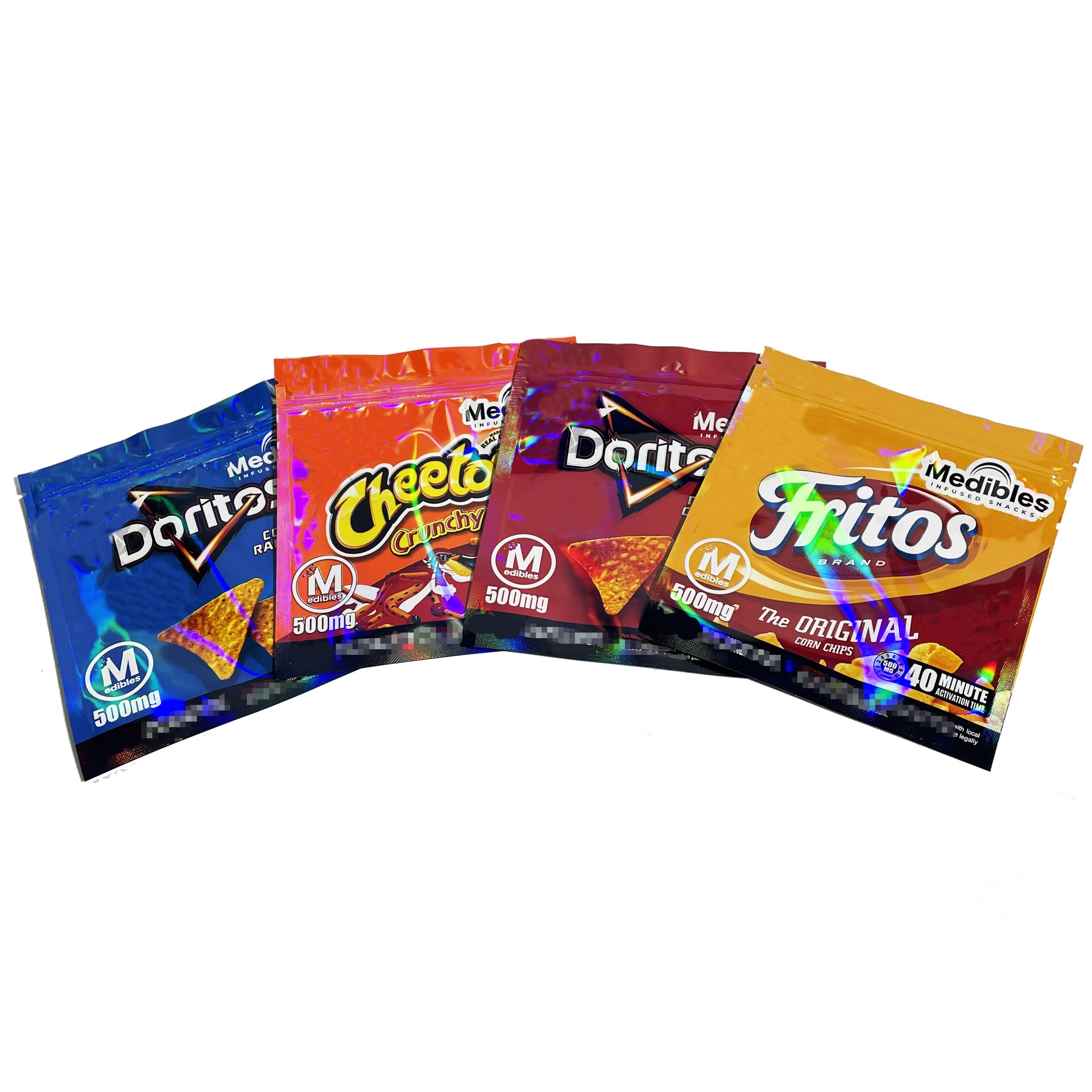 doritos blaze upcycled zipper bag