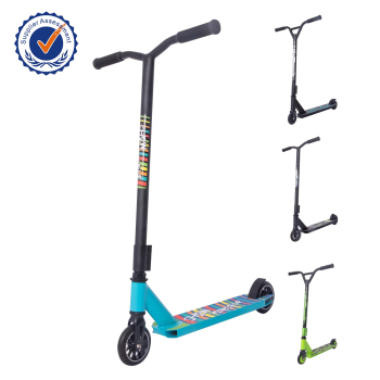 Freestyle extreme adult blunt style pro street stunt scooter with Aluminum core
