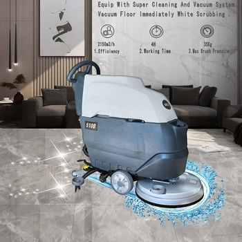 MLEE-510B Timber Terrazzo Cleaning Industrial Ceramic Tile Floor Washing Machine Scrubber