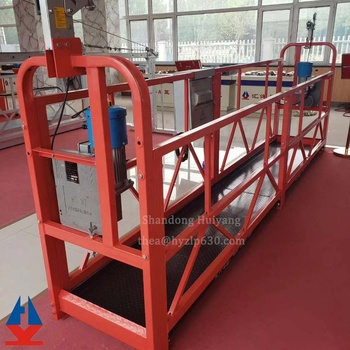 Huiyang zlp800 electric scaffolding/ Electric Suspended Platform/ high rise window cleaning equipment