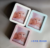 Photo frame accordion photo album newborn baby folding handprint clay kit hand-foot print baby footprints photo frame