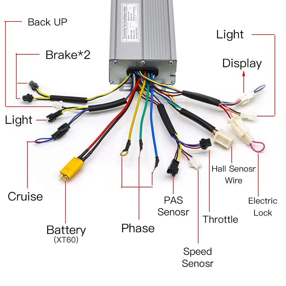 Details about  /E-Bike Torque Controller Professional System E-Bike//Pedelec 36V 48V 250W 500W show original title