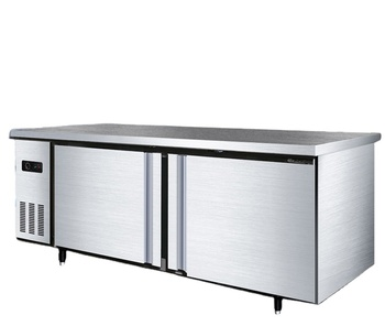 Bar Kitchen Workbench Display Counter Fridge Commercial Kitchen Equipment