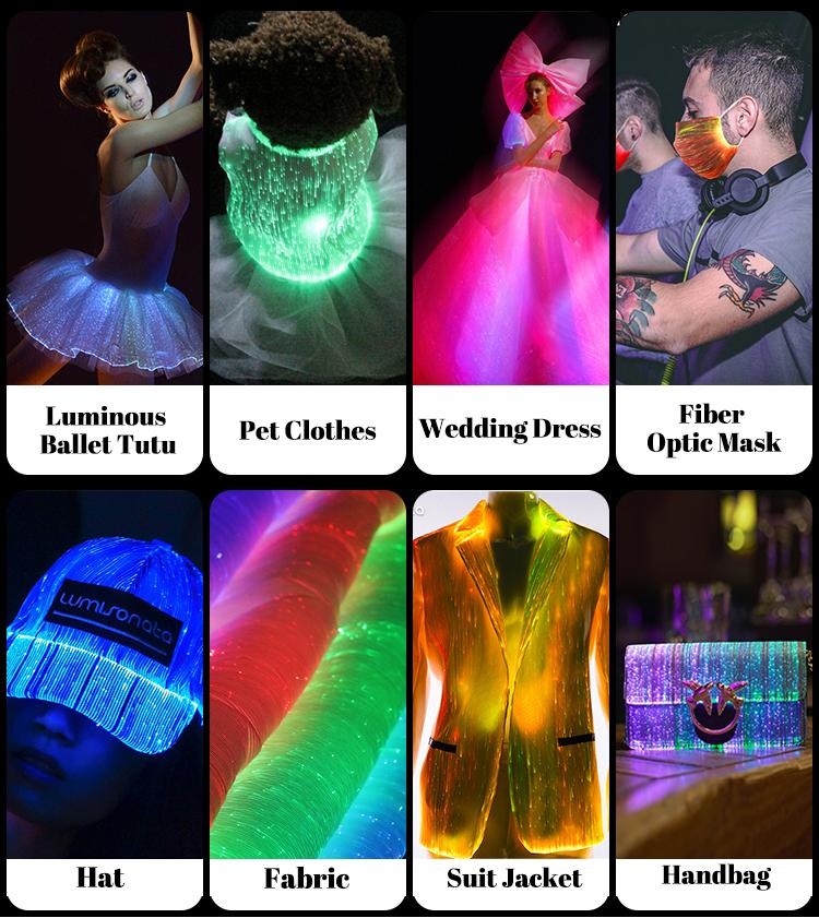 led lighted luminous smart adult fancy dresses