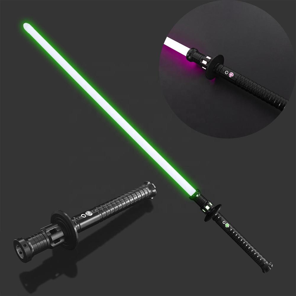 YDD Light Saber Sword Dueling Metal Hilt Blue Cosplay Toy USB Flash Sound Effect
