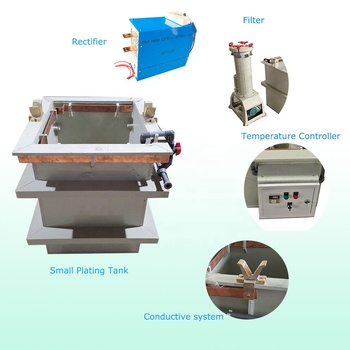 Mini electro plating machine copper plating line chrome plating kit