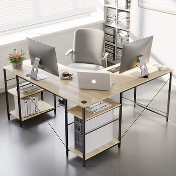 custom executive office desk with shelves home work writing table l shaped desk