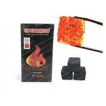 YKS 25mm charcoal coconut briquette for shisha