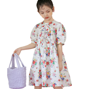 New fashion frock designs for small girls kids lovely baby dress new style