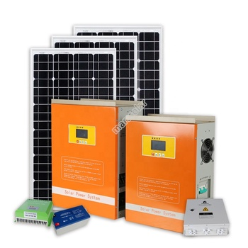 5KW 5KVA 10 KW Home solar power system on grid 5000 watt for house