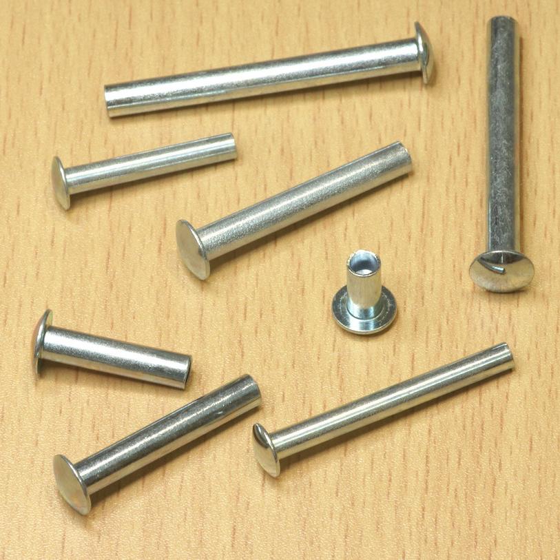 4x0 25x4 rivets en laiton autres tailles 100 Laiton Rivets rohrnieten din7340 b2