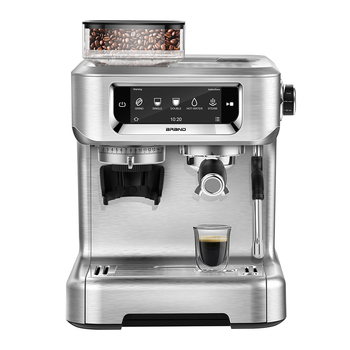 Customed logo 20bar bean to cup coffee machine maquina de cafe touch screen lcd espresso coffee maker machine a cafe