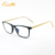 NEW fashion rectangle man eyewear and wooden style acetate eyeglasses frames 2021