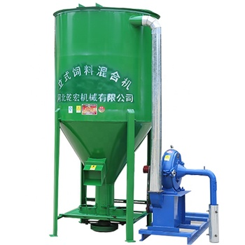 vertical poultry feed grinder mixer/cattle feed mixer with best price for sale