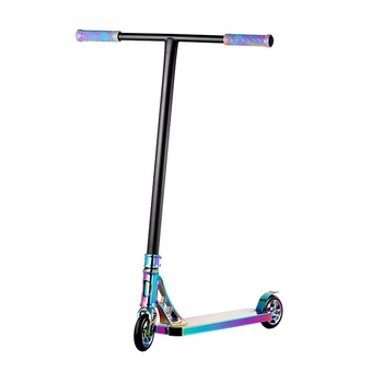 freestyle scooter High end Neo Chrome Oilslick Stunt Scooter for sale MGP Pro Scooter