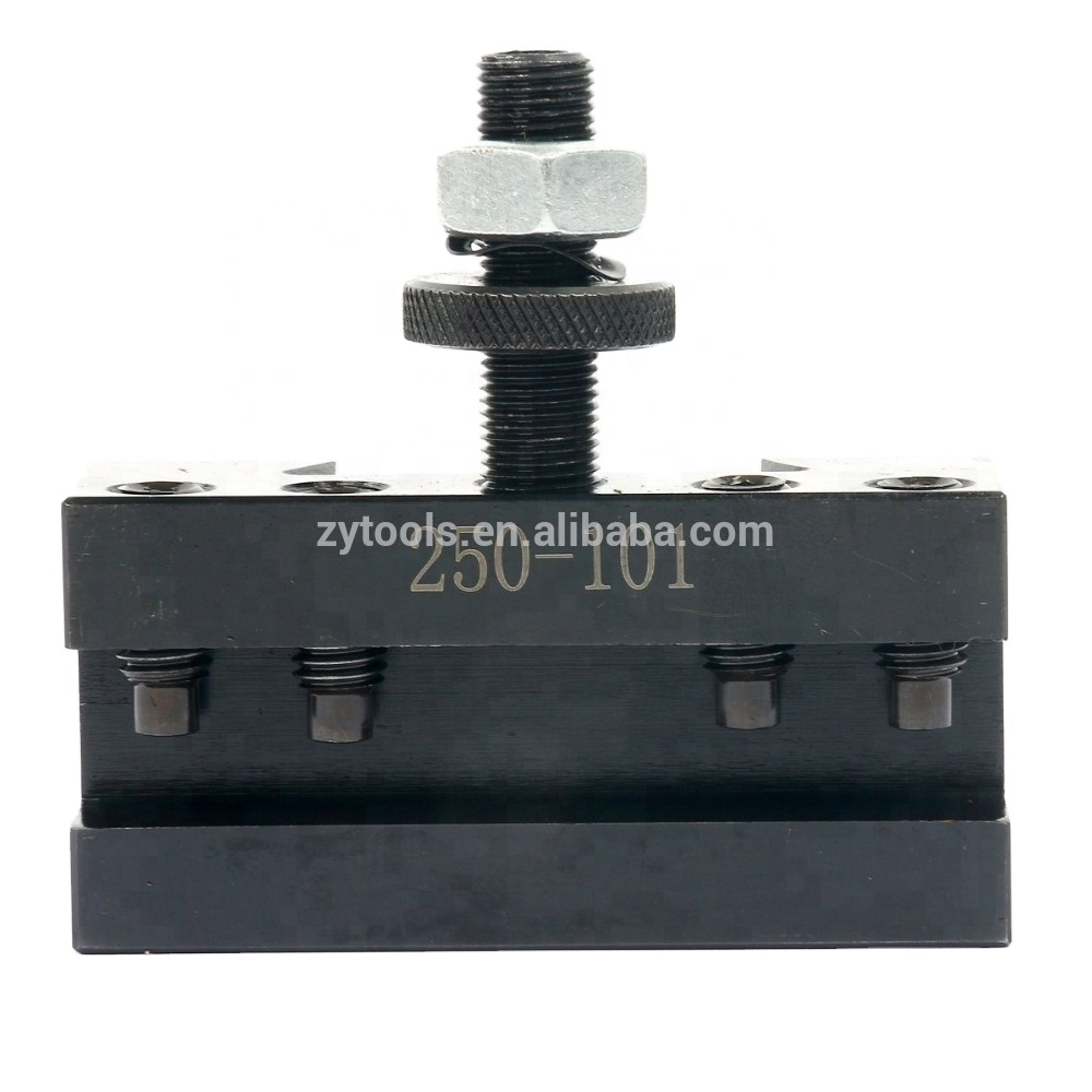5Pcs AXA #1 Quick Change 250-101 Tool Post Turning Facing Holder 6-12 for Use with AXA Tool Post 250-100 250-111