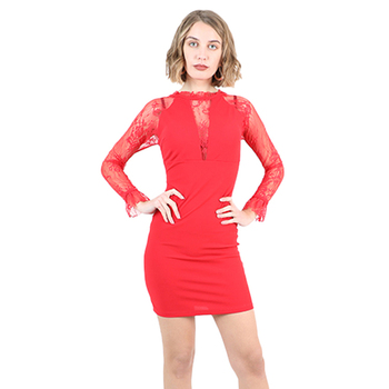 Wholesalers Italian Straight Silhouette luxury dress 2020 sexy women clothing