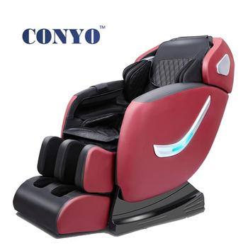 Recliner Zero Gravity full body massage chair with integrated Bluetooth.Airbag massage for neck, shoulders, back, waist, foot,