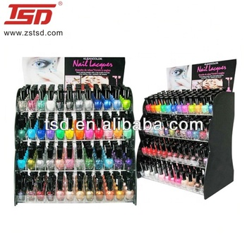 4-layer opi nail polish display,essie nail polish display rack,nail polish counter display