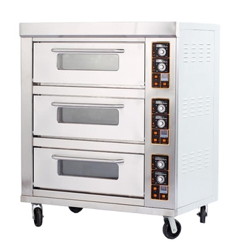 Hot Sales in 2021 easy operation industrial bread baking oven pizza gas oven