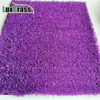 luxgrass rainbow purple artificial turf for kids