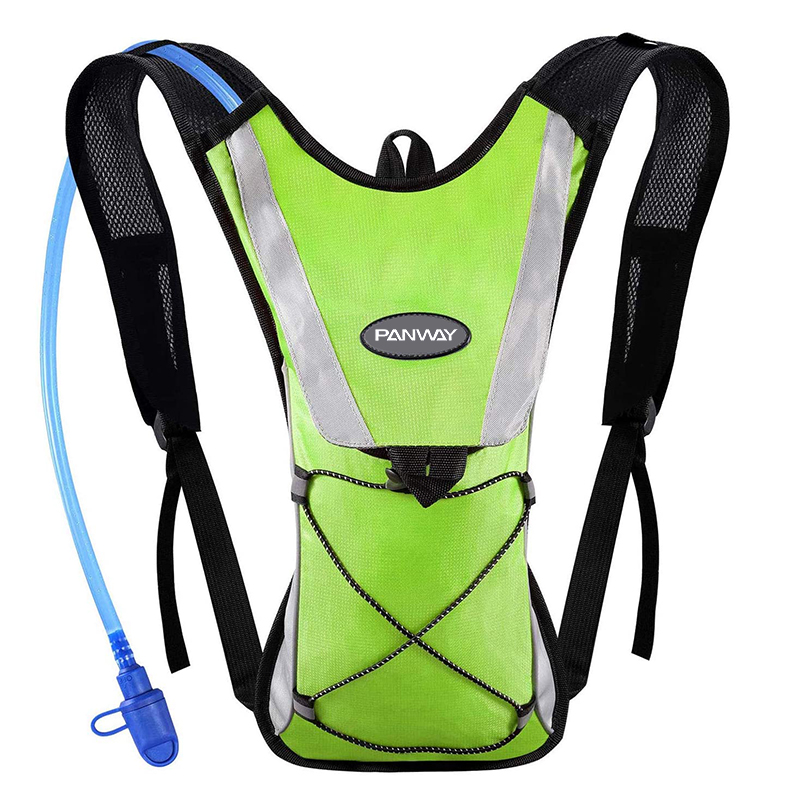 Water backpack hydration pack,Multiple Storage Compartment Water Backpack with 2L Water Bladder Perfect For Running Cycling Hiking Climbing Pouch,Wholesale Waterproof Durable Hydration Reflective pack Outdoor Running Bike Ski Hydration Backpack Water Bladder rucksack
