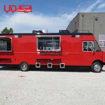 Street Sale Coffee Van Ice Cream Truck Taco Fast Food Cart Mobile Electric Quadricycle Dining Car