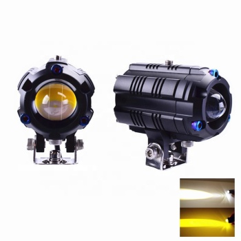 Senlo 2020 New M3 pro mini driving light dual color Motorcycles Headlight fog light auto lighting system