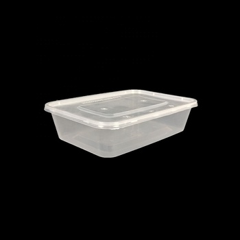 500ml small clear plastic boxes with lids stacking wow food storage plastic containers wholesale