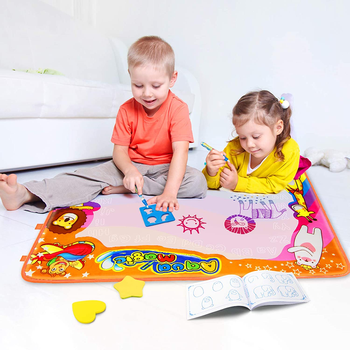 Water Drawing Mat Magic Doodle Kids Toys Free Coloring Painting Educational Writing Mats