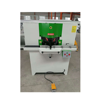 2.2KW Double head sawing angle machine aluminum wood 45 degree oblique angle processing equipment