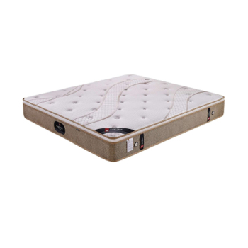 Home Bed Specific Use and Knitted jacquard fabric + latex + jute + refined steel chain spring